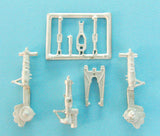 SAC 72070 F-89D/J Scorpion Landing Gear For 1/72nd Revell Model
