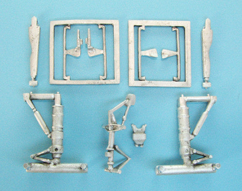 SAC 72072 Boeing 707, C-135, E-3 Landing Gear for 1/72nd Scale Jet for Heller