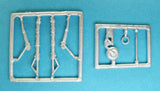 SAC 72079 Fw 190 Focke Wulf Landing Gear For 1/72nd Scale Airfix Model