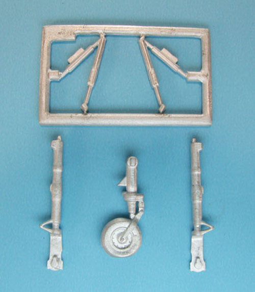SAC 72087 English Electric Lightning Landing Gear for 1/72nd Scale Airfix Model