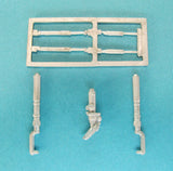 SAC 72090 Lightning T. Mk. 4/5 Landing Gear (SW) For 1/72nd Scale Sword Model