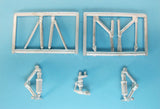SAC 72099 Mi-26 Halo Landing Gear for 1/72nd Scale Zvezda or Revell Model