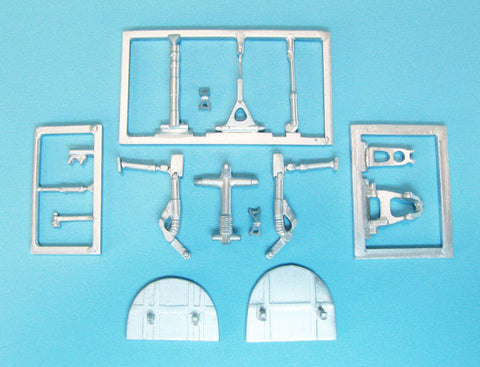 SAC 72102 Vautour Landing Gear for 1/72nd Scale Special Hobby and Azur Models