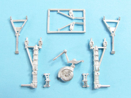 SAC 72118 Junkers Ju88 Landing Gear for 1/72nd Scale Zvezda Model