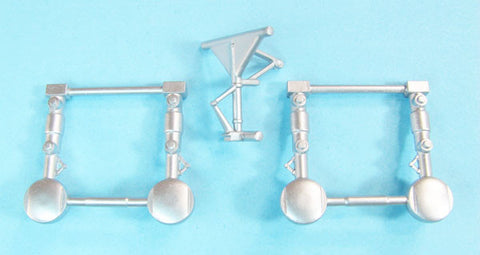 SAC 72129 C-130 Hercules Landing Gear 1/72nd Scale Italeri / Testors Model
