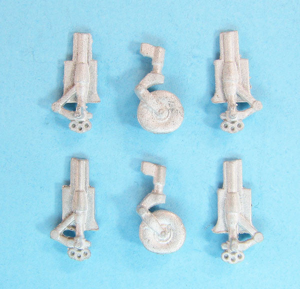 SAC 72136 Jet Provost T.3 Landing Gear for 1/72nd Airfix Model