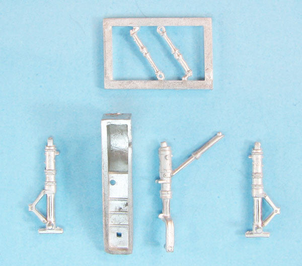 SAC 72140 Messerschmitt Me 262 Landing Gear for 1/72nd Revell Model