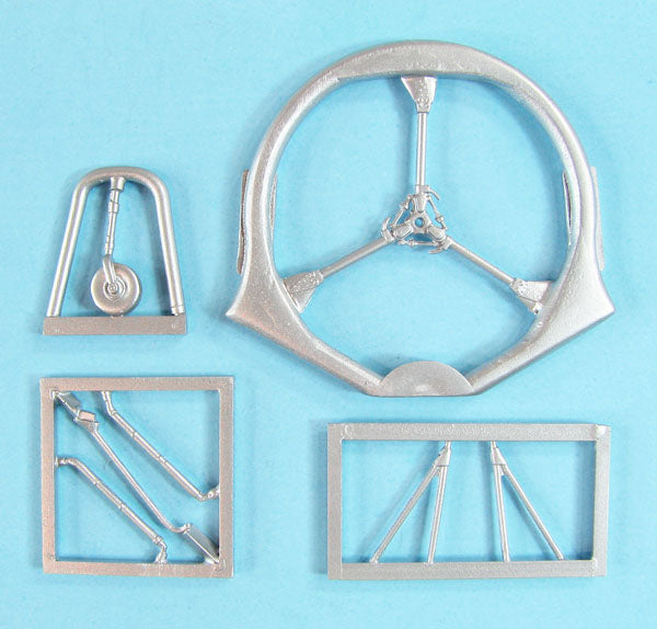 SAC 72143 Bristol Sycamore Landing Gear & Rotor Head replacement for 1/72nd Scale S&M Models