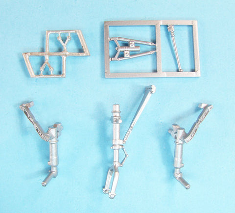 SAC 72145 B/RB-66B Destroyer Landing Gear (Ita/Tes) improved for 1/72nd Scale Italeri/Testors