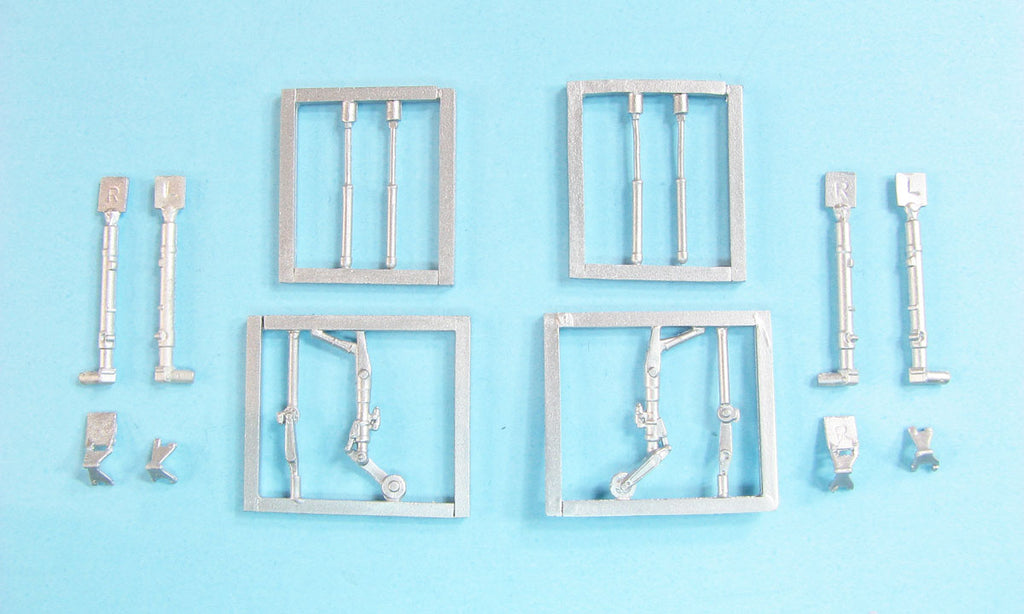 SAC 72159 MiG-2 Landing Gear (2 sets) replacement for 1/72nd Eduard