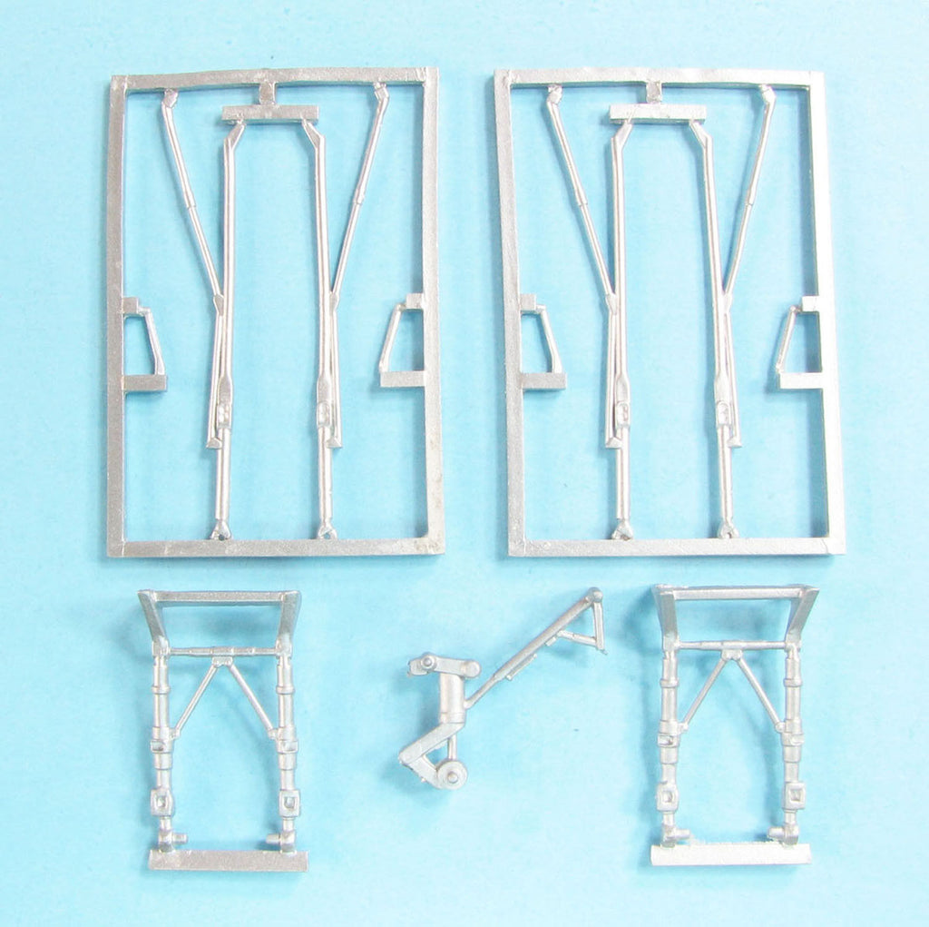 SAC 72162 Avro Shackleton AWE Landing Gear replacement for 1/72nd Revell