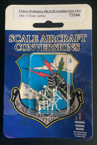 SAC 72166 Vickers Wellington Mk.1 A/D Landing Gear for 1/72nd Airfix Models