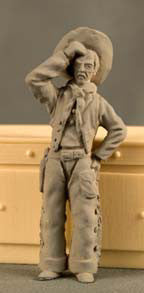 Kit# 9508 - Dude - Cowboy - Resin