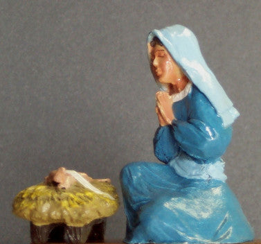 Kit# 9612 - Nativity Scene - Mary and Infant Jesus