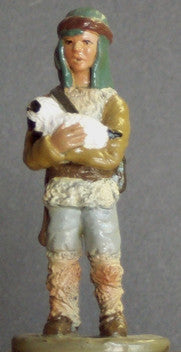 Kit# 9614 - Nativity Scene - Shepherd Boy with Lamb
