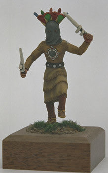 Kit# 9880 - Native American Apache Gan Dancer