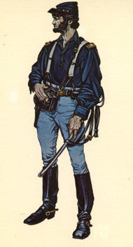 Kit# 9914 - US Cavalry Officer, 1863