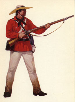 Kit# 9917 - 1st Mississippi Regiment Rifleman