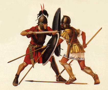 Kit# 9919 - Macedonian Hoplite
