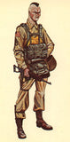 Kit# 9933 - US Paratrooper, WWII