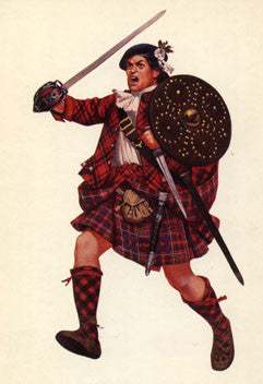 Kit# 9949 - Cameron Highlander 1746