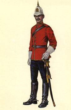 Kit# 9950 - NWMP Full Dress 1898