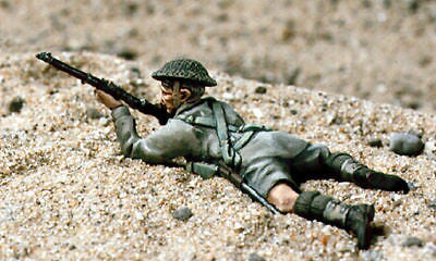 Kit# 9784 - Desert Rat Rifleman WWII