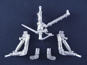 SAC 48005 F/A-18E/F Landing Gear For 1/48th Scale Hasegawa Model