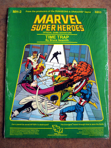 Marvel Super Heroes Official Game Adventure - Time Trap NEAR MINT