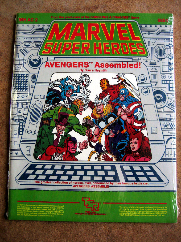Marvel Super Heroes adventure accessory Avengers Assembled - MINT