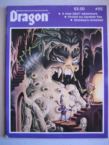 Dragon Magazine #55 Vintage VG+