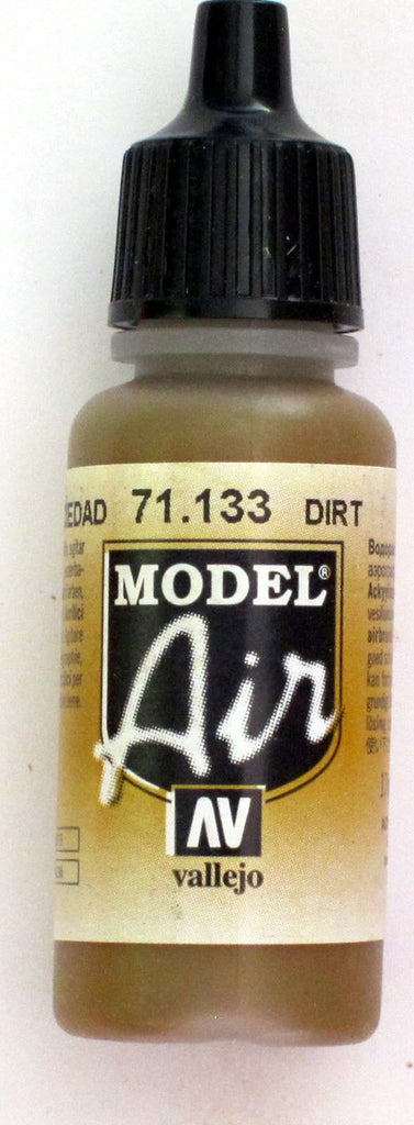 71133 Vallejo Model Airbrush Paint 17 ml Dirt