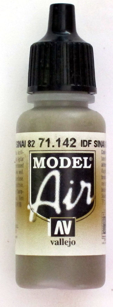 71142 Vallejo Model Airbrush Paint 17 ml IDF Sinai Grey