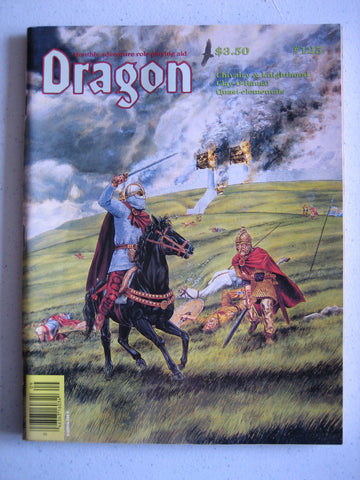 Dragon Magazine #125 Vintage VG+