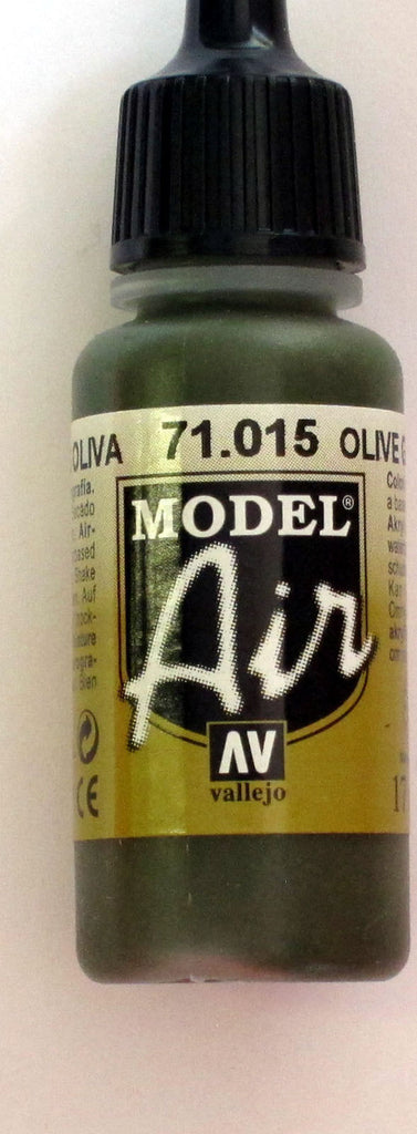 71015 Vallejo Model Airbrush Paint 17 ml Olive Grey