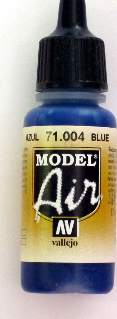 71004 Vallejo Model Airbrush Paint 17 ml Blue