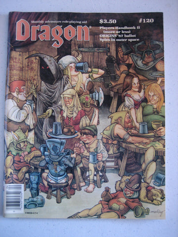 Dragon Magazine #120 Vintage VG+