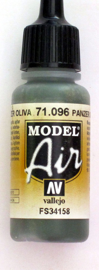 71096 Vallejo Model Airbrush Paint 17 ml Panzer Olive Green 1943