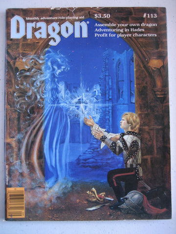 Dragon Magazine #113 Vintage VG+