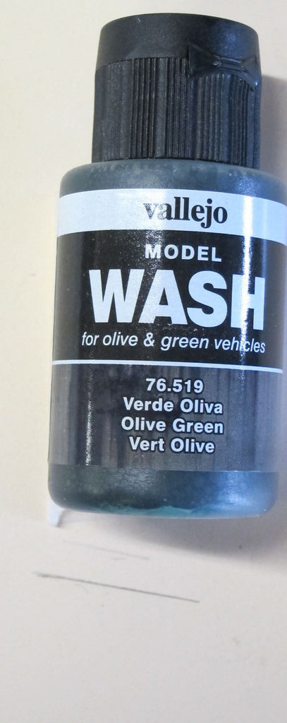 76519 Olive Green Vallejo Wash Paint: 35ml