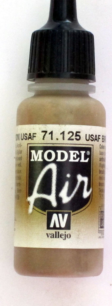 71125 Vallejo Model Airbrush Paint 17 ml USAF Brown