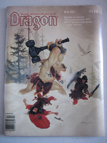 Dragon Magazine #119 Vintage VG+