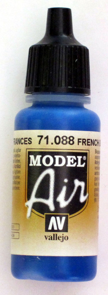 71088 Vallejo Model Airbrush Paint 17 ml French Blue