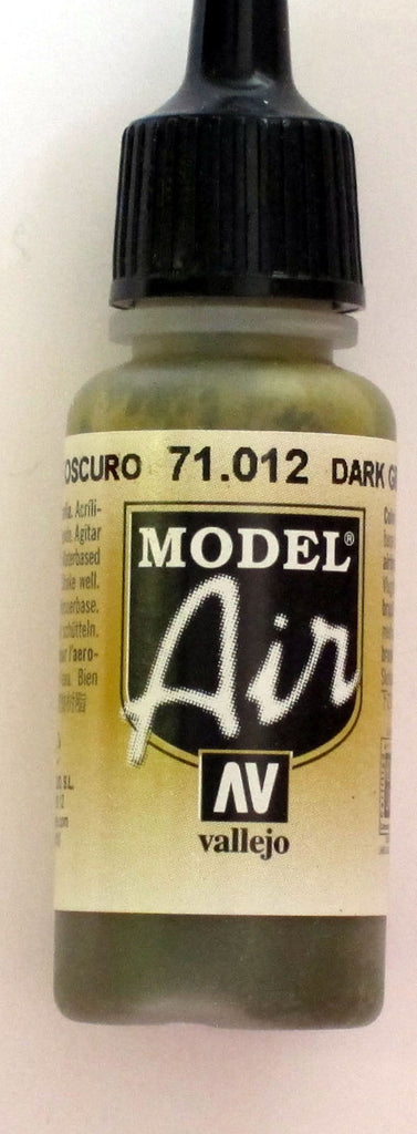 71012 Vallejo Model Airbrush Paint 17 ml Dark Green