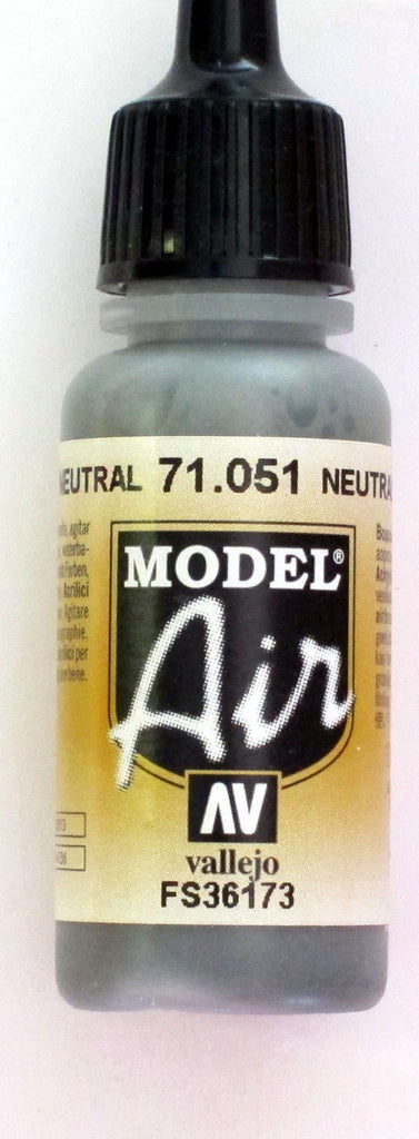 71051 Vallejo Model Airbrush Paint 17 ml Barley (Neutral) Grey