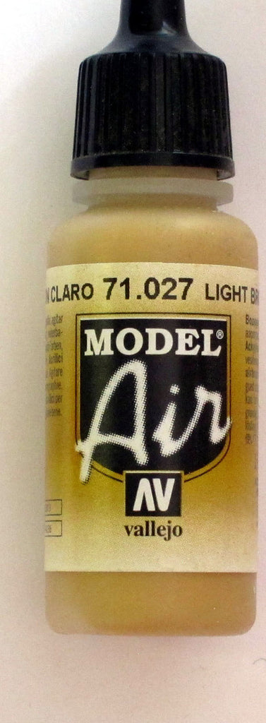 71027 Vallejo Model Airbrush Paint 17 ml Light Brown