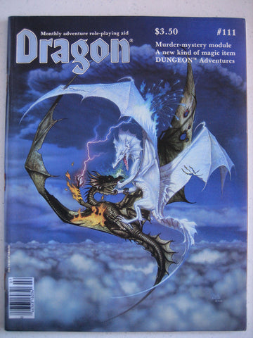 Dragon Magazine #111 Vintage VG+