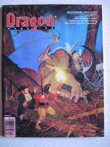 Dragon Magazine #128 Vintage VG+