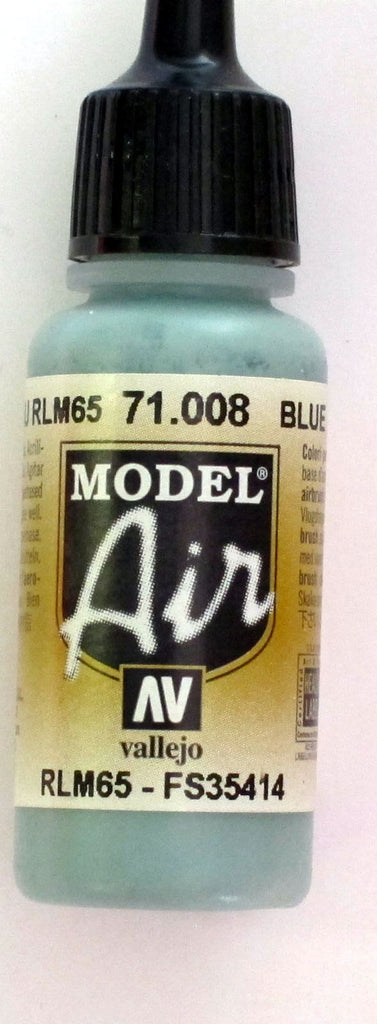 71008 Vallejo Model Airbrush Paint 17 ml Pale Blue