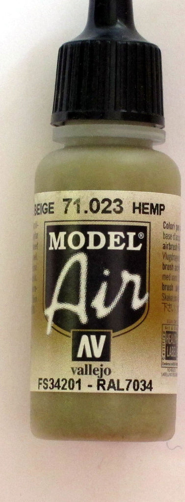 71023 Vallejo Model Airbrush Paint 17 ml Hemp